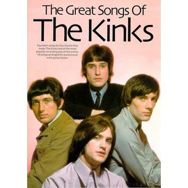 The Great Songs Of The Kinks Piano, Vocal & Guitar (with Chord Boxes)