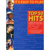 It's Easy To Play Top 50 Hits 1 Blue Edition Piano, Vocal & Guitar (With Chord Boxes)