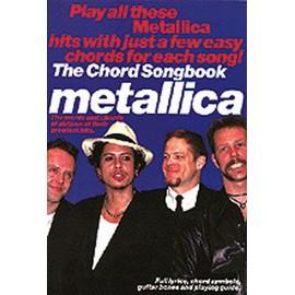 Metallica:Chord Songbook Voix et accords