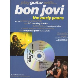 Play Guitar With...Bon Jovi - The Early Years Guitar Tab