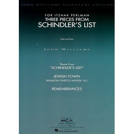 Three Pieces from Schindler's List Violin and Piano