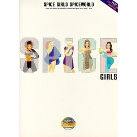 Spice Girls:Spiceworld Piano, Vocal & Guitar (with Chord Boxes)