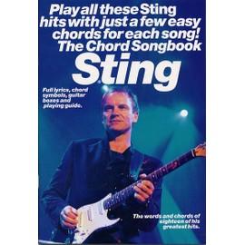 Sting Chord Songbook Guitar