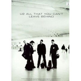 U2: All That You Can't Leave Behind Guitar Tab