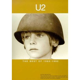 The Best Of U2: 1980 - 1990 Guitar Tab