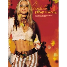 Anastacia: Freak Of Nature Piano, Vocal & Guitar (with Chord Boxes)
