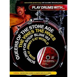 Play Drums With¿ Queens Of The Stone Age, The Vines, The Hives, Jimmy Eat World, Blink 182, Sum 41 And Bowling For Soup Drums