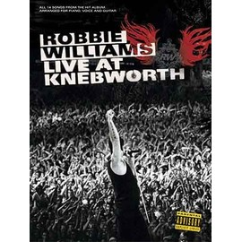 Robbie Williams: Live At Knebworth Piano, Voice and Guitar