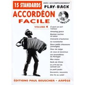 Accordeon Facile Accord�on Volume 4