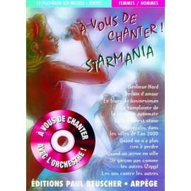 A Vous de Chanter Starmania + CD Voix