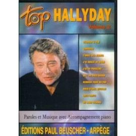 Top Hallyday Tous instruments avec Paroles Vol.2