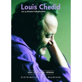 Chedid Louis Les 15 Chansons Indispensables P/V/G Piano,  Voix,  Guitare