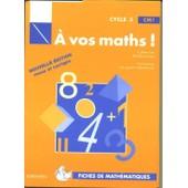 � Vos Maths !, Cm1 - Fiches De Math�matiques de Berdonneau