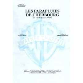 Les Parapluies De Cherbourg Chant,  Piano / Vocal,  Piano / Voce,  Pianoforte / Canto,  Piano
