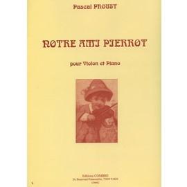 Notre ami Pierrot Violon et piano