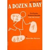 A Dozen A Day - Livre 4 Piano Livre 4 : Lower Higher