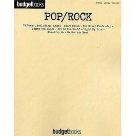 Budgetbooks : Pop/Rock Piano, Vocal & Guitar