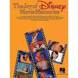 The Joy Of Disney Movie Memories Piano