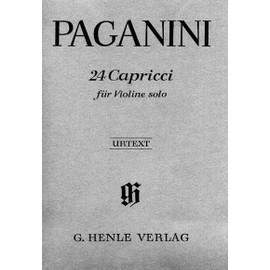24 Capricci Opus 1 Violine solo