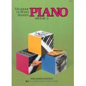 M�thode De Piano Bastien Piano Niveau 3