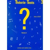 Th�orie-Tests Volume 3