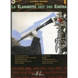 La Clarinette fait son Cinéma Clarinette, Piano Volume 1
