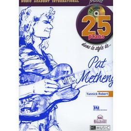 25 plans dans le style de Pat Metheny Guitare