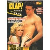Clap / 04-1986 N� 24 : Sharon Stone (4p) - Lambert Wilson (4p) - Kim Basinger (3p) - Michael Douglas (4p) - Cl�mentine C�lari� (3p) - Myriem Roussel (3p) - Fran�ois Cluzet (4p) - Wadeck Stanczak (3p)