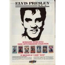 ELVIS PRESLEY PUBLICITE MAGAZINE ROCK'N'FOLK COLLECTION 1990