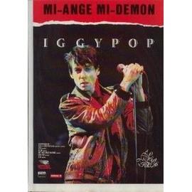 IGGY POP PUBLICITE DU MAGAZINE ROCK'N'FOLK MI-ANGE MI DEMON 1992