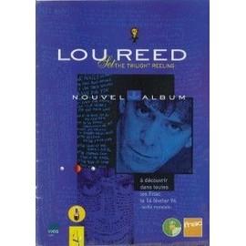 LOU REED Publicite Magazine Rock'n'folk NOUVELLE ALBUM 1996
