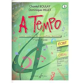 boulay-millet : à tempo vol 3 écrit