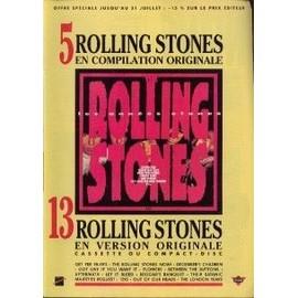 THE ROLLING STONES PUBLICITE DU MAGAZINE ROCK'N'FOLK COMPILATION