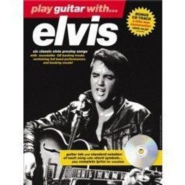 elvis presley : play guitar with (guitare tab) + 1 CD