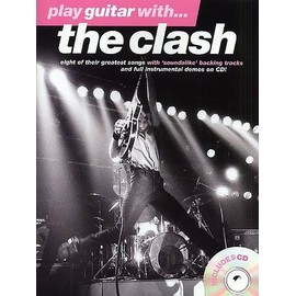 the clash : play guitar with (guitar tab) + 1 CD