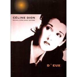celine dion,recueil piano chant guitare