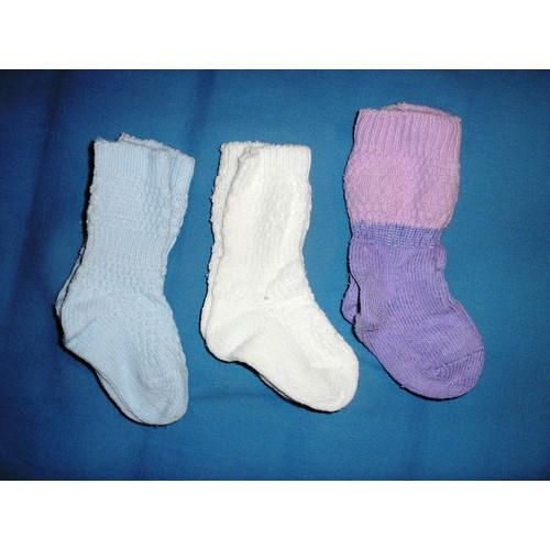Lot de 3 paires de chaussettes t1517