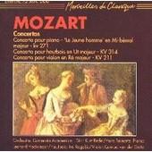 Concerto Pour Piano, Concerto Pour Hautbois, Concerto Pout Violon - Wolfgang Amadeus Mozart