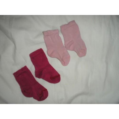 Lot de 2 paires de chaussettes t 1417