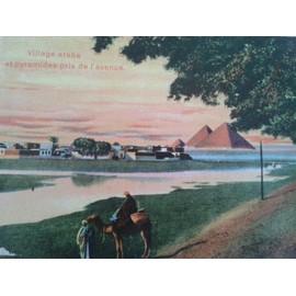 8 Cartes Coloris�es Non �crites Du Caire Et Alexandrie
