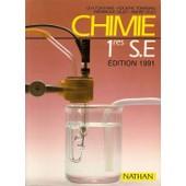 Chimie, 1res S. E. - Programme 1988 de Alain-Bernard Fontaine