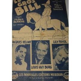 Francis Blanche - Le gros Bill (sur les motifs de Polly Wolly Doodle)