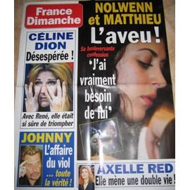 Nolwenn Leroy Poster Magazine France Dimanche 75 X 60 Cm. 4