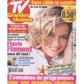 Tv Grandes Chaines / 03-07-2004 N� 7 : Liz Taylor (2p) - Catherine Zeta Jones (1p) - Elodie Fr�g� (1,5p) - Anne Parillaud (1,5p) - Jennifer Love Hewitt (1,5p)