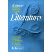 Dictionnaire Historique, Th�matique Et Technique Des Litt�ratures Tome 2 - L-Z de Jacques Demongin