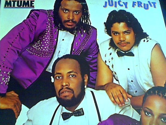 Juicy Fruit Album Vinyl 1983 Usa Funk