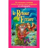 Le Retour D'errare de Dominique Grandpierre