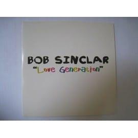 bob sinclar (star academy) : love generation (cd collector - radio mix)