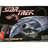 Star Trek Kit 3 Adversaires (Klingon Romulien Ferengy)