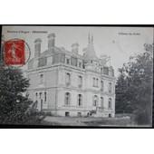Carte Postale Affranchie :1907, Pruniers, Ch�teau Du Gr�sil (Pr�s D'angers)